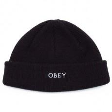 Bonnet Obey - Rollup Beanie - Black