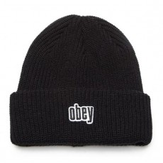 Bonnet Obey - Jungle Beanie - Black