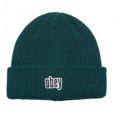 Bonnet Obey - Jungle Beanie - Dark Teal