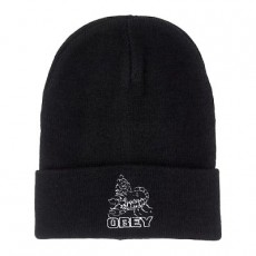 Bonnet Obey - Borrego Beanie - Black