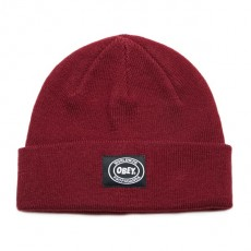 Bonnet Obey - Onset Beanie - Raspberry