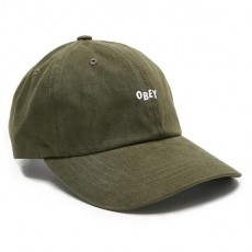 Casquette 6 Panel Obey - Jumble Bar III 6 Panel - Dark Forest