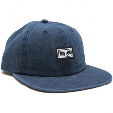 Casquette 6 Panel Obey - Culver 6 Panel Snapback - Navy