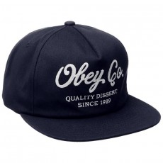 Casquette Snapback Obey - Quality Dissent Snapback - Navy