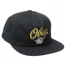 Casquette Snapback Obey - Careless Whispers Snapback - Black