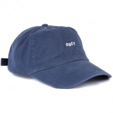 Casquette 6 Panel Obey - Jumble Bar II 6 Panel - Navy