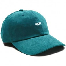 Casquette 6 Panel Obey - Jumble Bar III 6 Panel - Teal