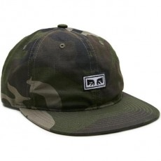 Casquette 6 Panel Obey - Overthrow 6 Panel - Camo