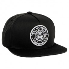 Casquette Snapback Obey - Classic Patch Snapback - Black