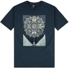 T-Shirt Obey - A Delicate Balance - Navy