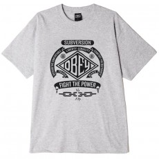 T-Shirt Obey - Disturb The Comfortable - Heather Grey