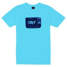 T-Shirt Obey - What To Think - Pacific Blue