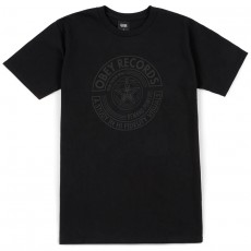 T-Shirt Obey - Obey Visual Fidelity - Limo Black