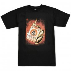 T-Shirt Obey - Black Gold - Black