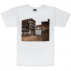 T-Shirt Obey - Obey Bus Photo - White