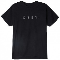 T-Shirt Obey - Novel Obey - Black