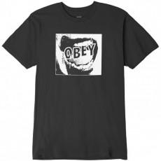 T-Shirt Obey - Screamer - Dusty Black