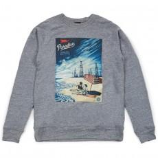 Sweatshirt Obey - Paradise Turns - Heather Grey