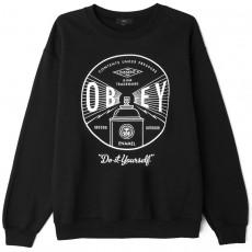 Sweatshirt Obey - Under Pressure Crew - Black