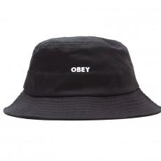 Chapeau Bob Obey - Bold Bucket Hat - Black