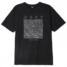 T-Shirt Obey - Obey Creative Dissent - Black