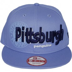 Casquette Snapback New Era - 9Fifty NHL Dough Word - Pittsburgh Penguins