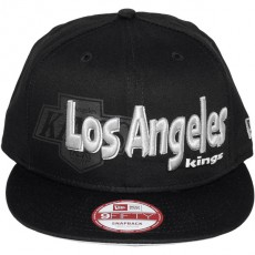Casquette Snapback New Era - 9Fifty NHL Dough Word - Los Angeles Kings