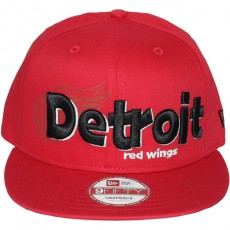 Casquette Snapback New Era - 9Fifty NHL Dough Word - Detroit Red Wings