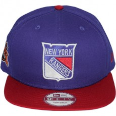 Casquette Snapback New Era - 9Fifty NHL Baycik Snap - New York Rangers