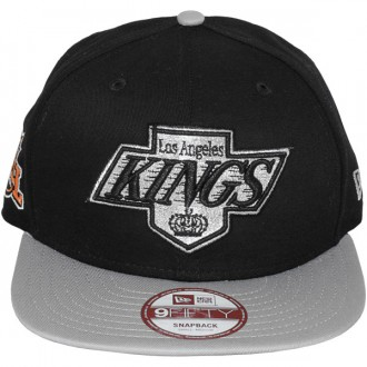 9345001915654 Casquette Snapback New Era - 9Fifty NHL Baycik Snap - Los Angeles Kings