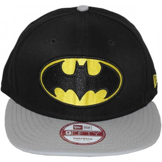 Casquette Snapback New Era x DC Comics - 9Fifty Reverse Hero - Batman