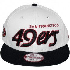 Casquette Snapback New Era - 9Fifty NFL Team Script - San Francisco 49ers