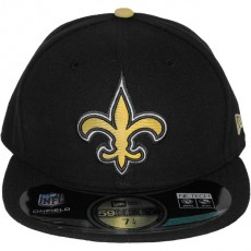 Casquette Fitted New Era - 59Fifty NFL On Field - New Orleans Saints