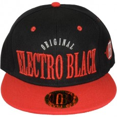 Casquette Snapback Electro Black - Original - Black/Red