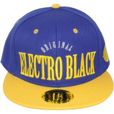 Casquette Snapback Electro Black - Original - Blue/Yellow