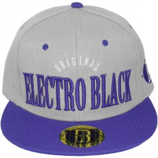 Casquette Snapback Electro Black - Original - Grey/Blue