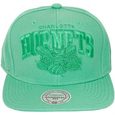 Casquette Snapback Mitchell & Ness - NBA TTarch TC - Charlotte Hornets