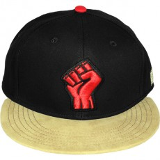 Casquette Snapback Cayler & Sons - Fist - Black / Sand