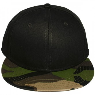 Casquette Snapback Cayler & Sons - 2 Stone - Black / Camouflage