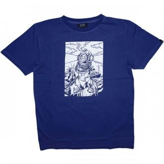 T-shirt Olow - Gardien - Bleu marine