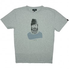 T-shirt Olow - Hobo - Gris chiné