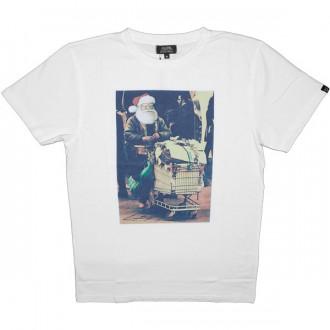 T-shirt Olow - Merry Christmas - Blanc