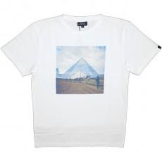 T-shirt Olow - Pyramide - Blanc