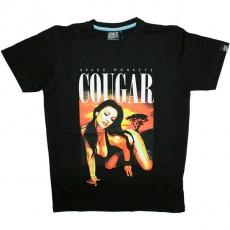 T-shirt Space Monkeys - Cougar Tee - Black