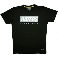 T-shirt Space Monkeys - Haters Tee - Black