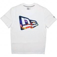 T-shirt New Era - Broken Flag Tee - White