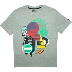 T-shirt New Era - Musicmash Up Tee - Light Grey
