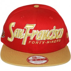 Casquette Snapback New Era - 9Fifty NFL Snapitback2 - San Francisco 49ers