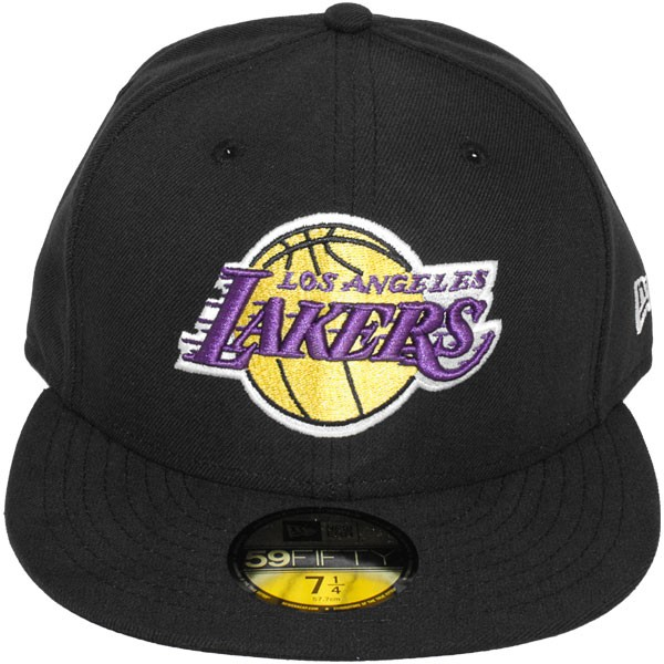 casquette fitted new era 59fifty nba seasbas los angeles lakers. Black Bedroom Furniture Sets. Home Design Ideas