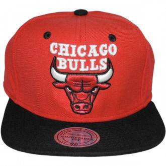 Casquette Chicago Bulls Mitchell And Ness